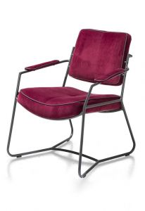 H&H - Tygo, Fauteuil - Antraciet Frame