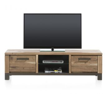 H&H - Falster, TV-Dressoir 170 Cm - 1-Lade + 1-Klep + 2-Niches