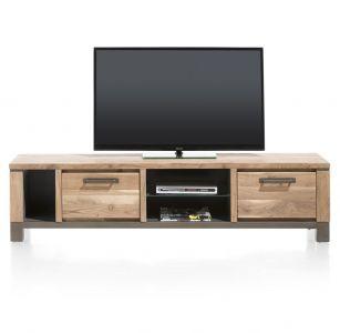 H&H - Falster, TV-Dressoir 190 Cm - 1-Lade + 1-Klep + 3-Niches