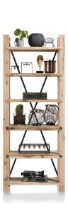 H&H - Maitre, Boekenkast 75 Cm - 6-planken