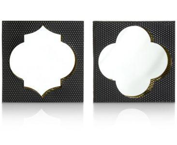 2 Spiegels Morocco - 40 X 40 Cm