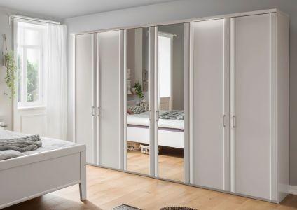 Draaideurkast Bern - 6 deuren (2 spiegeldeuren)