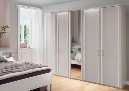 Draaideurkast Bern - 5 deuren (1 spiegeldeur)
