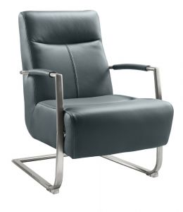 fauteuil kavena steel blue