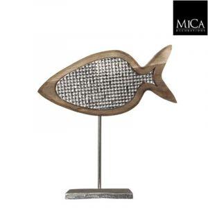 beeld vis zilver
