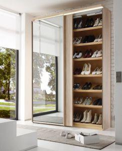 Zweefdeurkast Sinfonie Plus 2 - inclusief legborden voor schoenen