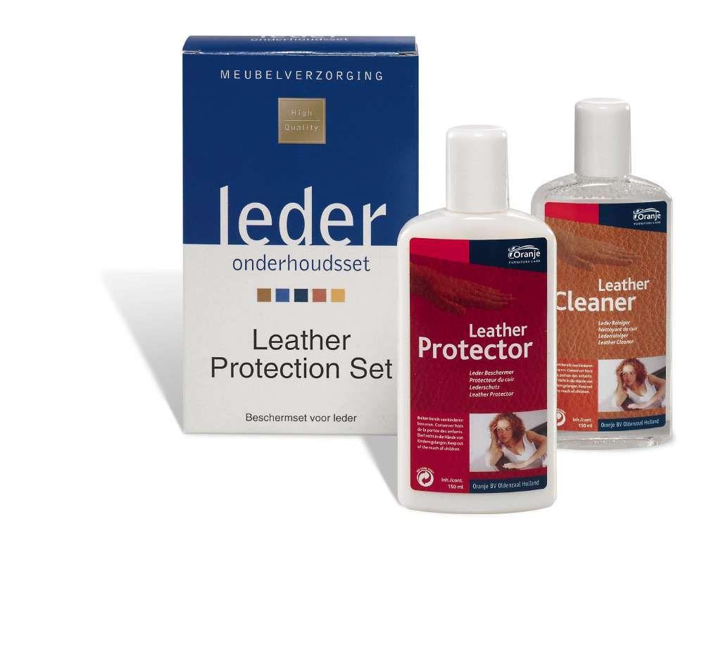 onderhoud leather protection set 2x150 ml