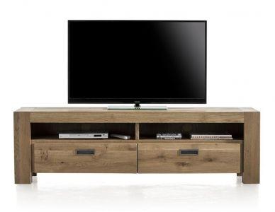 tv-dressoir van eikenhout