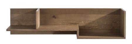 Trendy wandplank van eikenhout