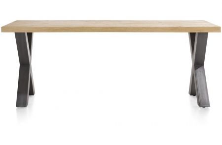 H&H - Metalox, Eetkamertafel 170 X 100 Cm