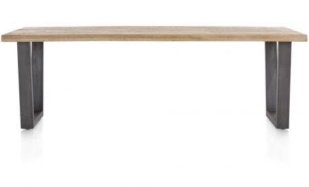 H&H - Metalox, Eetkamertafel 230 X 100 Cm