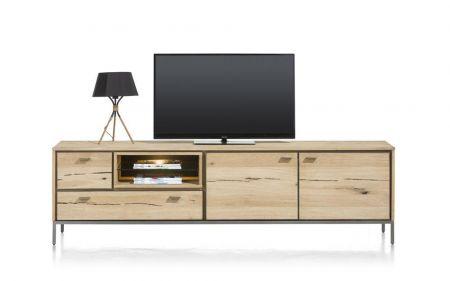 Lowboard 200 cm met strakke details