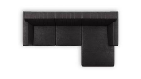 H&H - Zembla, 2-zits + Longchair Rechts