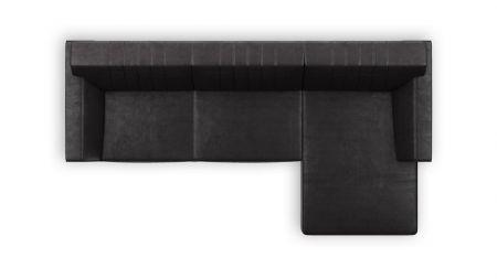H&H - Zembla, 2,5-zits + Longchair Rechts