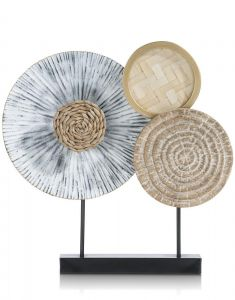 Object Natural Circles - 46 X 48 Cm