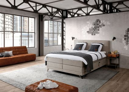 industriele boxspring bedding concepts
