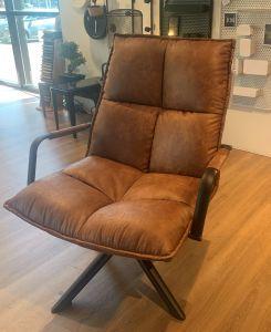 fauteuil Mitchell - bruin