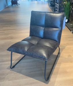 fauteuil Ruby - antraciet