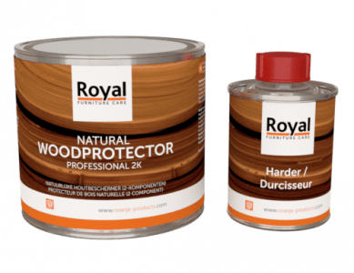Natural Wood Protector 500 ml + harder