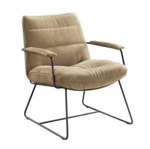 fauteuil delira walnut