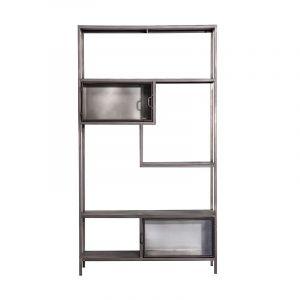 by-boo ventana collection - asym. bookcase