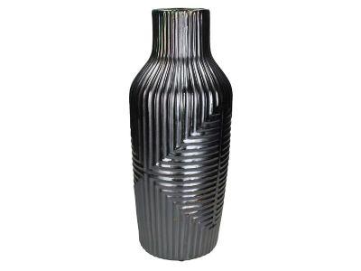 vase stoneware grey 47x19cm