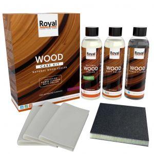 Wood Care Kit Matt Polish - 3x 250 ml