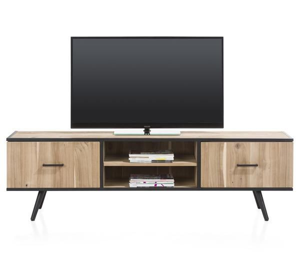 XOOON - Kinna, Tv-dressoir 190 Cm - 1-deur + 1-lade + 2-niches