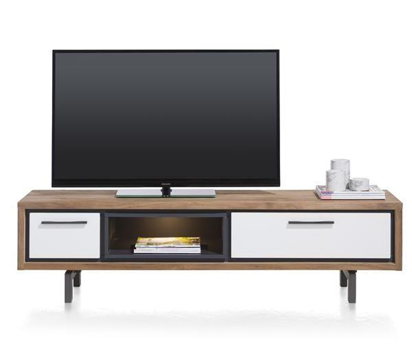 XOOON - Otta, Tv-dressoir 170 Cm - 1-lade + 1-klep + 1-niche (+ Led)