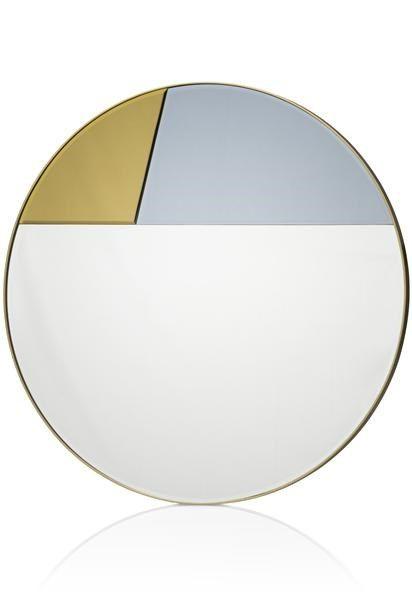 H&H - Wandspiegel Eden - Diameter 80 Cm
