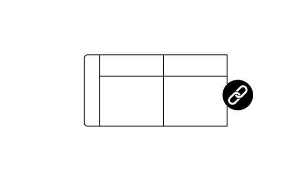 H&H - Zembla, 2,5-zits + Arm Links