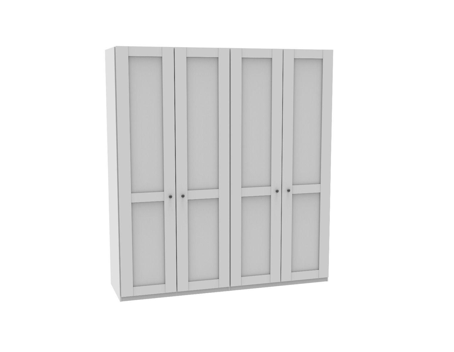 Draaideurkast Sloane - 4 deuren
