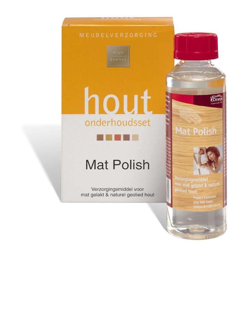 onderhoud mat polish 250 ml(voor matte lak)