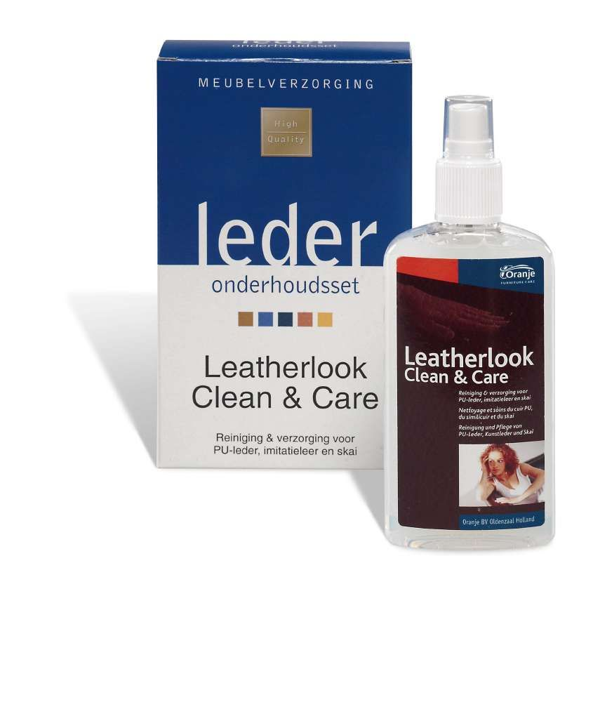 onderhoud leatherlook Clean & Care