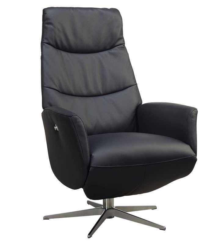 relaxfauteuil izalia large zwart