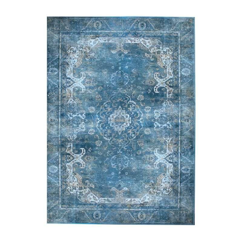karpet medaly 160x230cm blauw