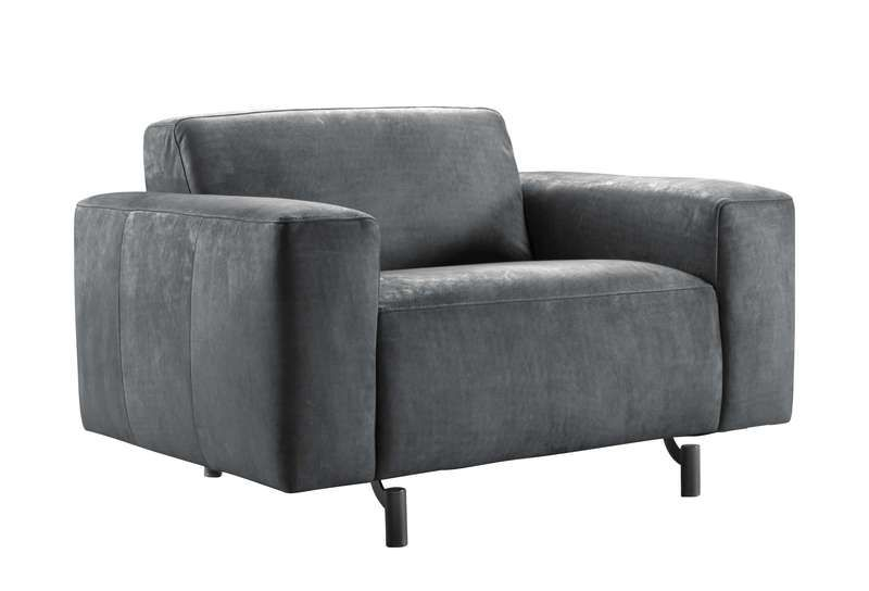loveseat carolina antraciet