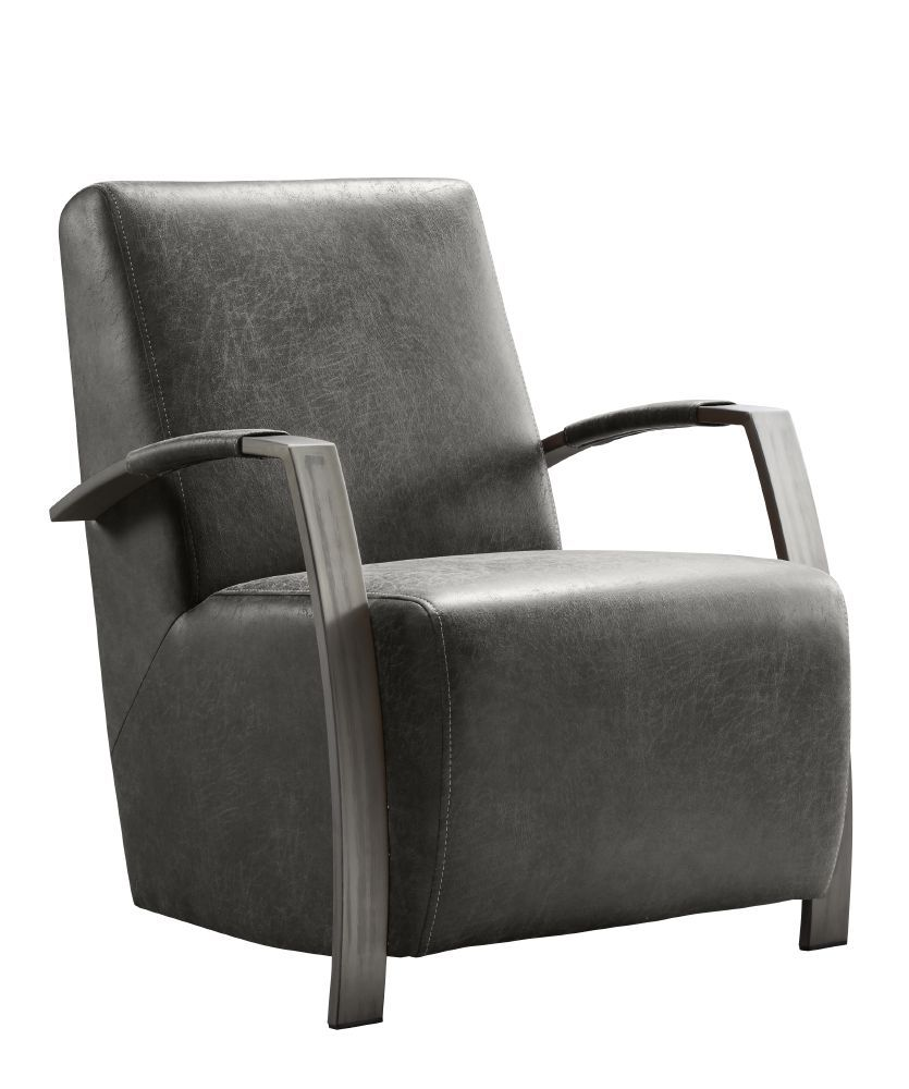 fauteuil caily lage rug black