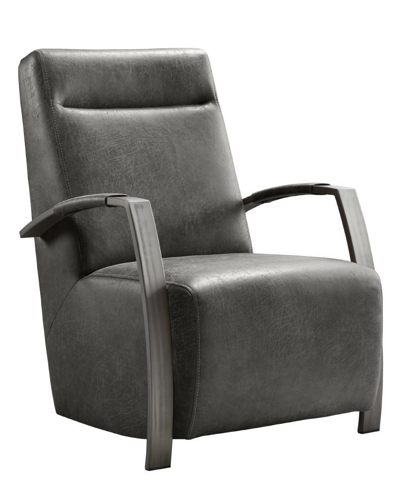 fauteuil caily hoge rug black