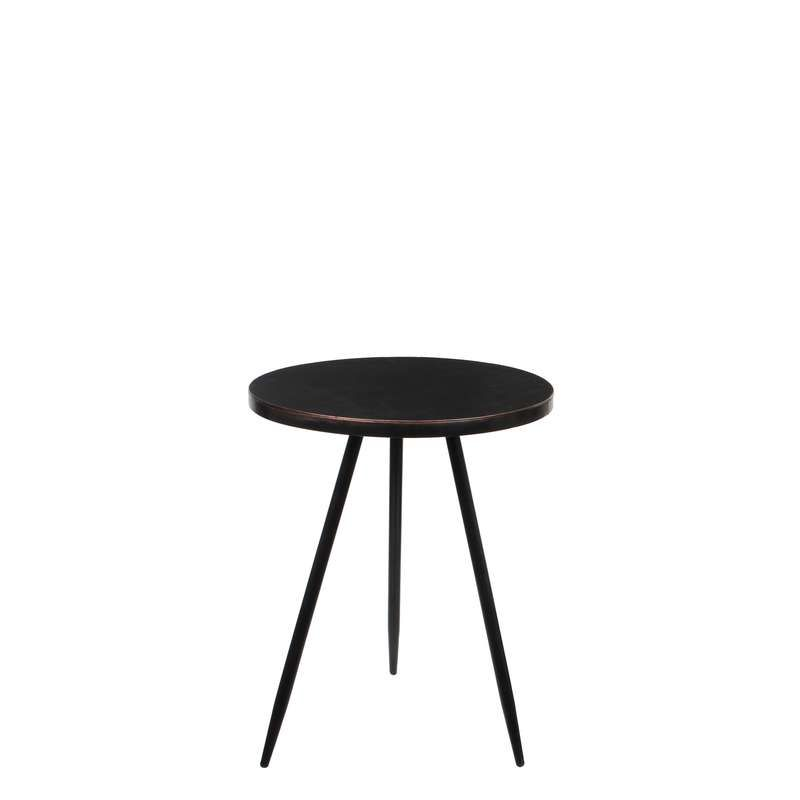 tafel rond zwart