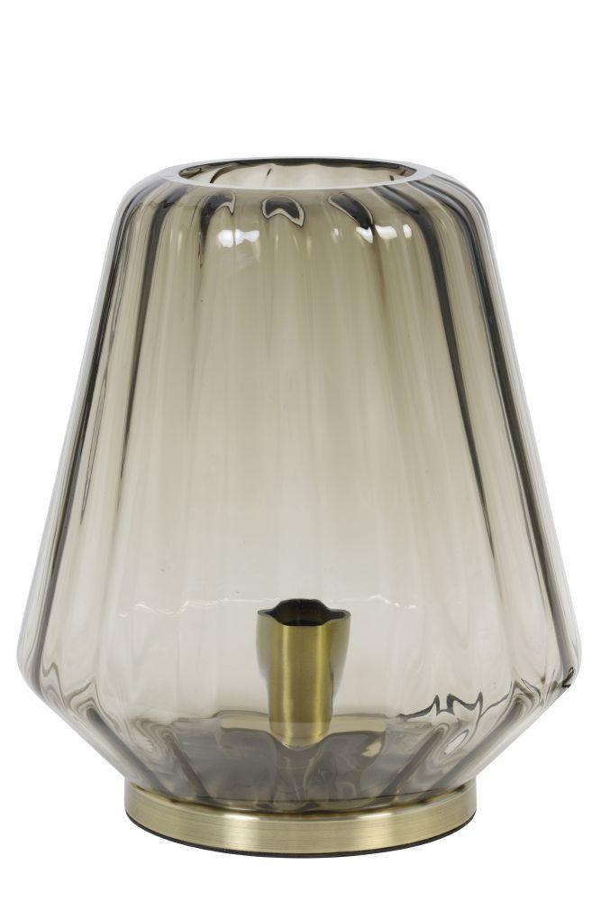 tafellamp chaves bruin koper