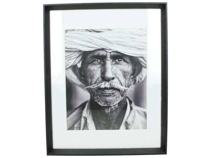 fotoframe wood black 28x36cm