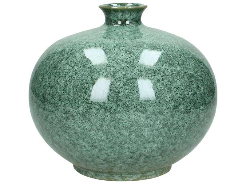vaas ceramic green