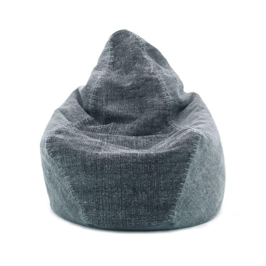by-boo 3081 beanbag mono - blue