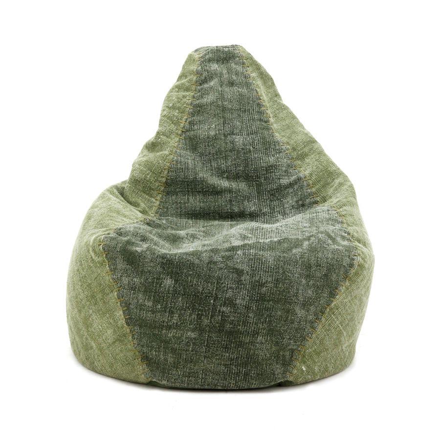 by-boo 3085 beanbag mono - green
